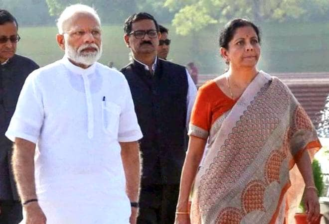Modi reviews the state of the economy with Sitharaman, FinMin officials