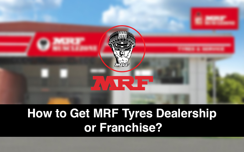 MRF tyres dealership