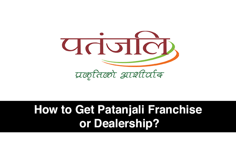 Patanjali franchise / Dealership