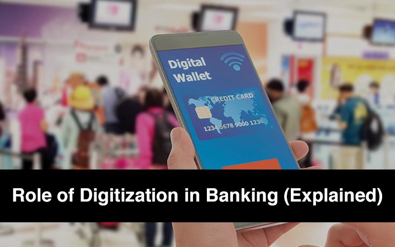 Role of Digitization in Banking GD