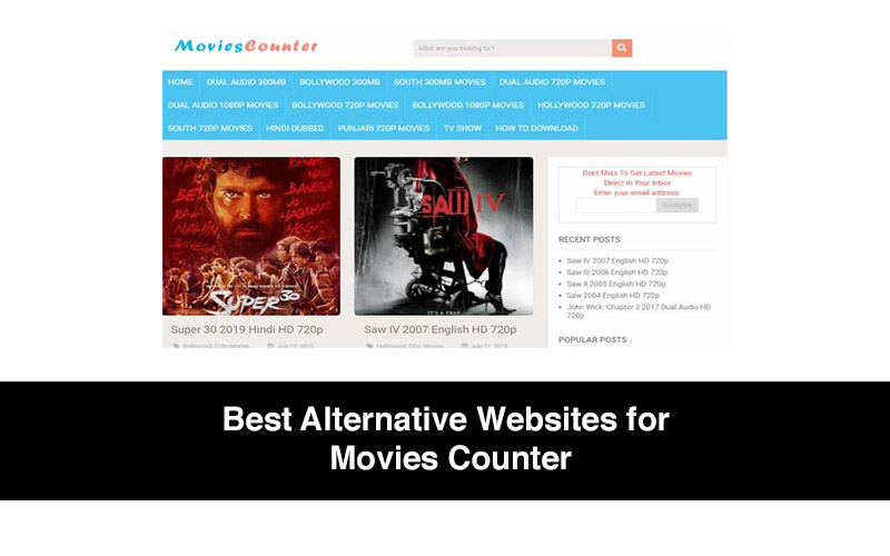 Best Alternative Websites for Movies Counter