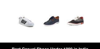 Best Casual Shoes Under 1000 in India