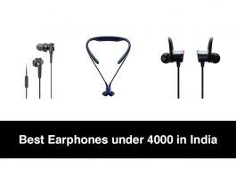 Best Earphones under 4000 in India