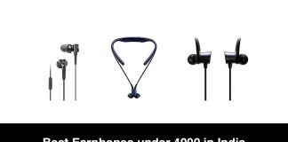 Best Earphones under 4000 in India
