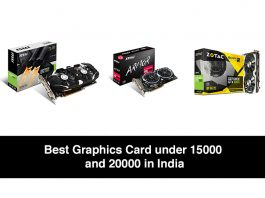 Best Graphics Card under 20000