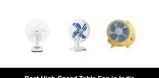 Best High-Speed Table Fan in India