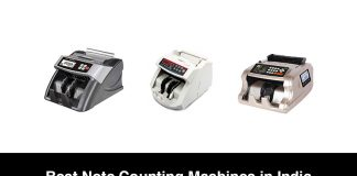 Best Note Counting Machines in India