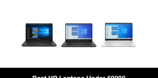 Best HP Laptops Under 50000