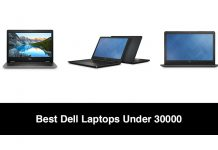 Best Dell Laptops Under 30000