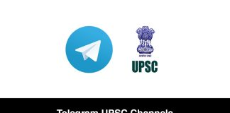 Telegram UPSC Channels